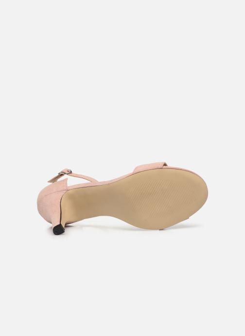 Sandales et nu-pieds Bianco BIAADORE Basic Sandal Rose vue haut
