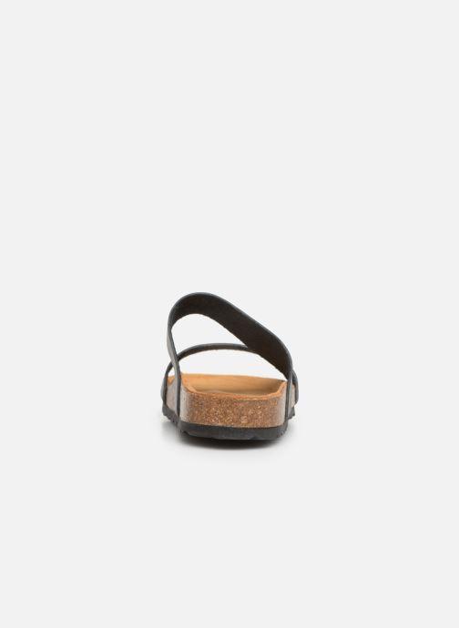 Mules et sabots Bianco BIABETRICIA Twin Strap Sandal Noir vue droite