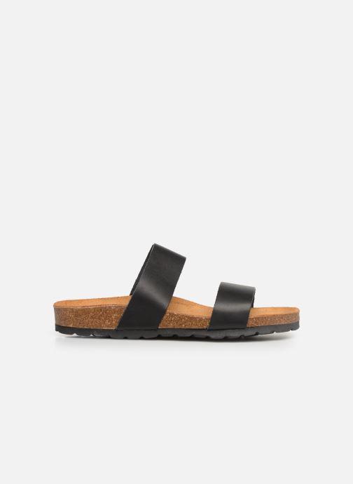 Mules et sabots Bianco BIABETRICIA Twin Strap Sandal Noir vue derrière