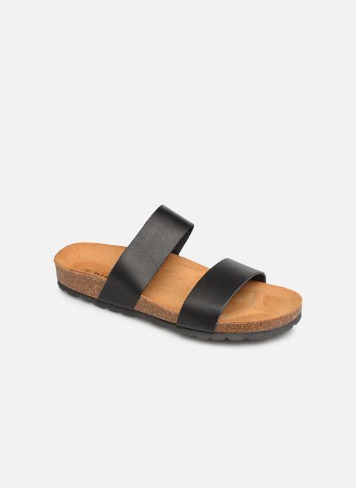 Zuecos Bianco BIABETRICIA Twin Strap Sandal Negro vista de detalle / par