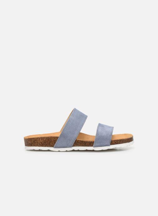 Mules et sabots Bianco BIABETRICIA Twin Strap Sandal Bleu vue derrière