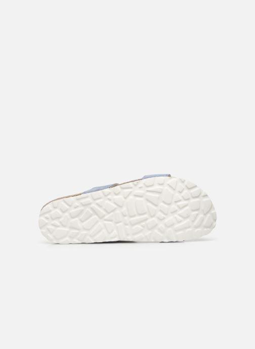 Mules et sabots Bianco BIABETRICIA Twin Strap Sandal Bleu vue haut
