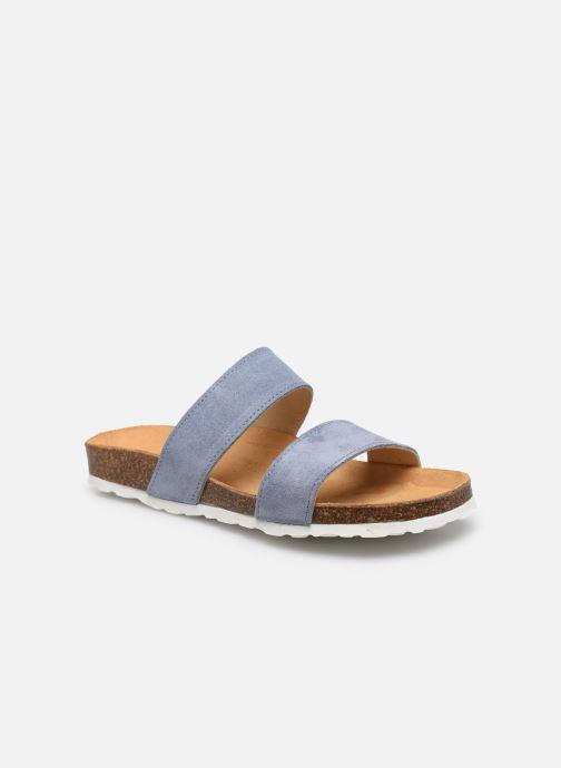 Mules et sabots Bianco BIABETRICIA Twin Strap Sandal Bleu vue détail/paire