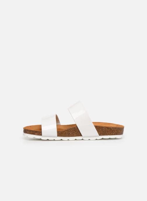 Mules et sabots Bianco BIABETRICIA Twin Strap Sandal Blanc vue face