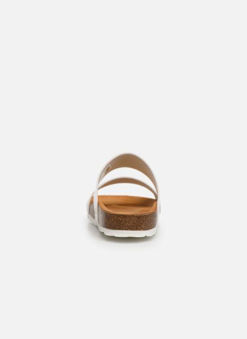 Mules et sabots Bianco BIABETRICIA Twin Strap Sandal Blanc vue droite