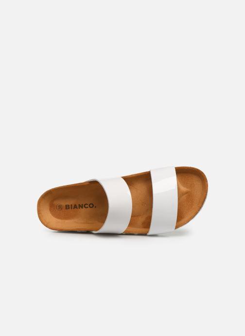 Mules et sabots Bianco BIABETRICIA Twin Strap Sandal Blanc vue gauche