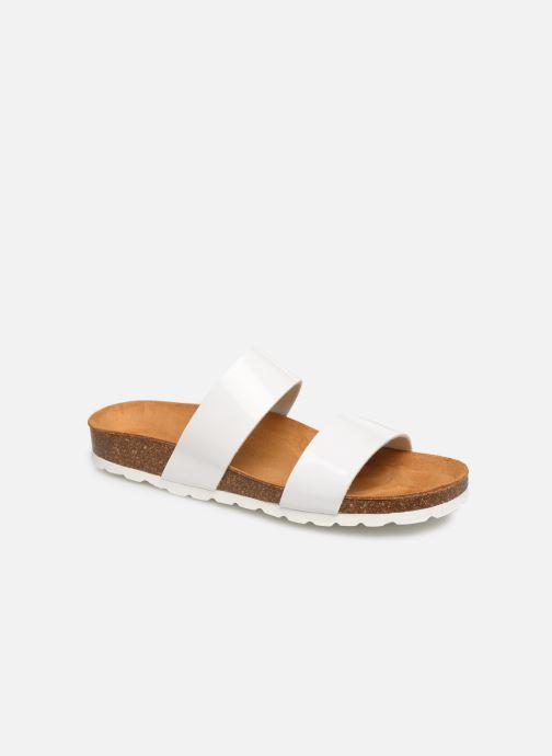 Mules et sabots Bianco BIABETRICIA Twin Strap Sandal Blanc vue détail/paire