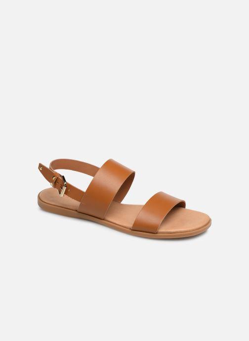 Sandales et nu-pieds Bianco BIABROOKE Basic Leather Sandal Marron vue détail/paire