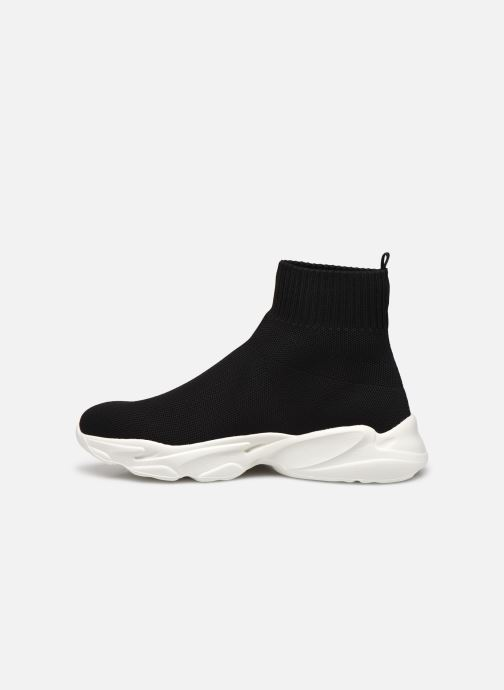Baskets Bianco BIACASE Hightop Sock Sneaker Noir vue face