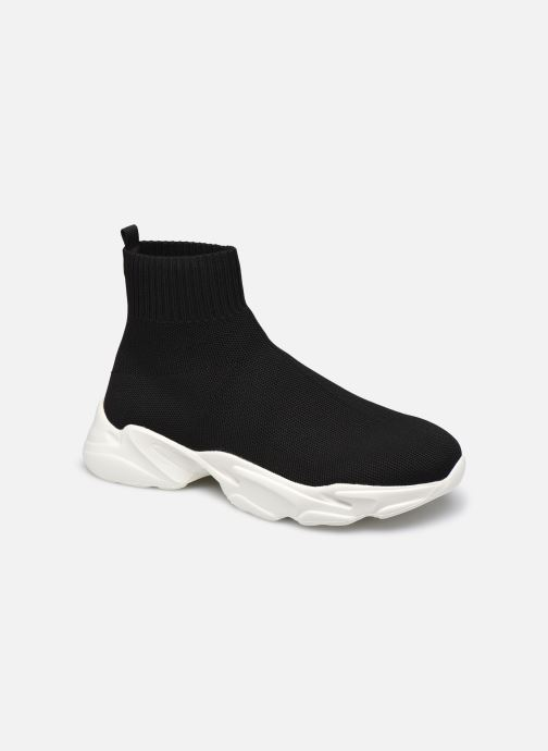 Baskets Bianco BIACASE Hightop Sock Sneaker Noir vue détail/paire