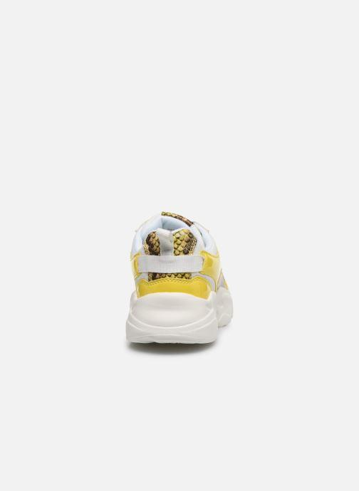 Sneakers Bianco BIACASE Sneaker Giallo immagine destra