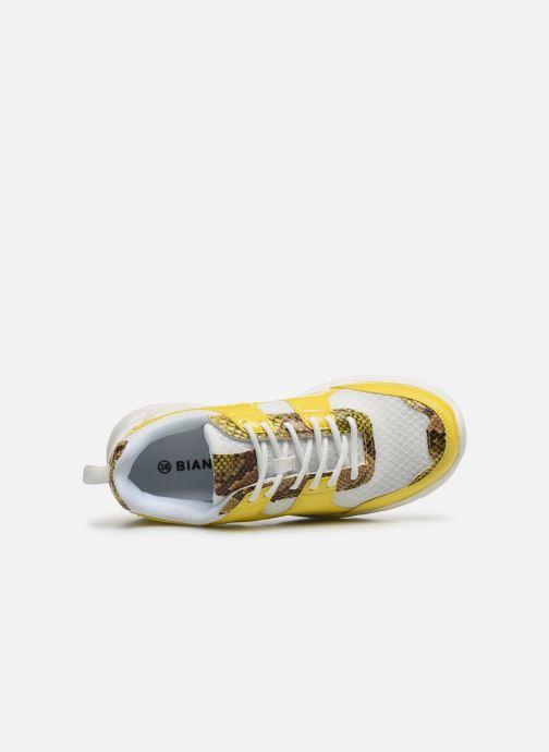 Sneakers Bianco BIACASE Sneaker Giallo immagine sinistra