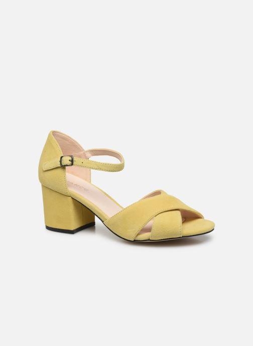 BIACATE Suede Cross Sandal