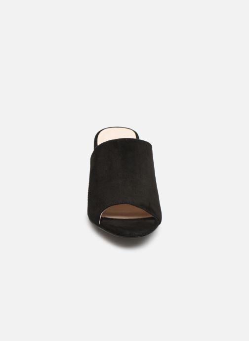 Mules et sabots Bianco BIACATE Suede Mule Sandal Noir vue portées chaussures