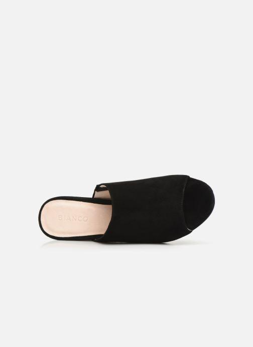 Mules et sabots Bianco BIACATE Suede Mule Sandal Noir vue gauche
