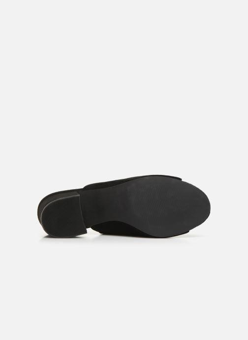 Mules et sabots Bianco BIACATE Suede Mule Sandal Noir vue haut