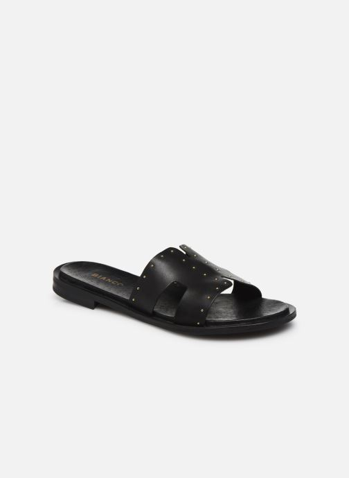 Mules et sabots Bianco BIADARLA Leather Studs Sandal Noir vue détail/paire