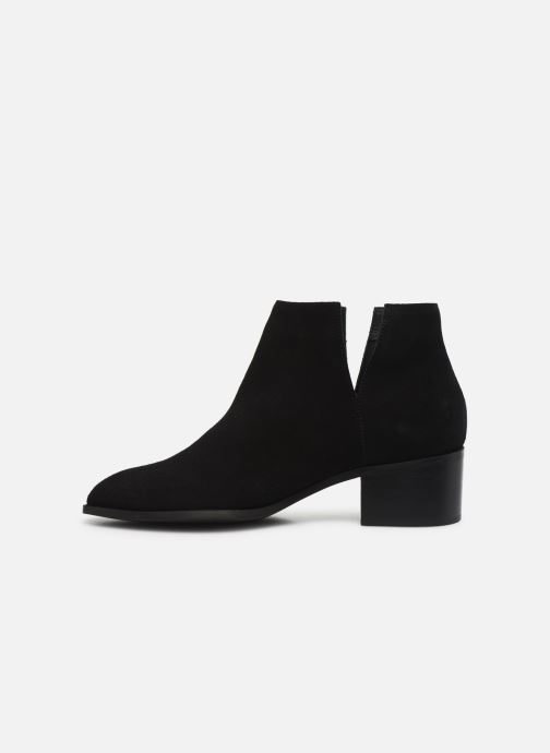 Botines  Bianco BIADARLEY Suede V-Cut Boot Negro vista de frente