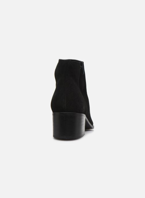 Botines  Bianco BIADARLEY Suede V-Cut Boot Negro vista lateral derecha