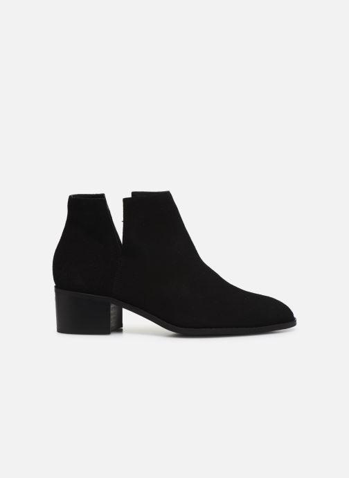 Botines  Bianco BIADARLEY Suede V-Cut Boot Negro vistra trasera