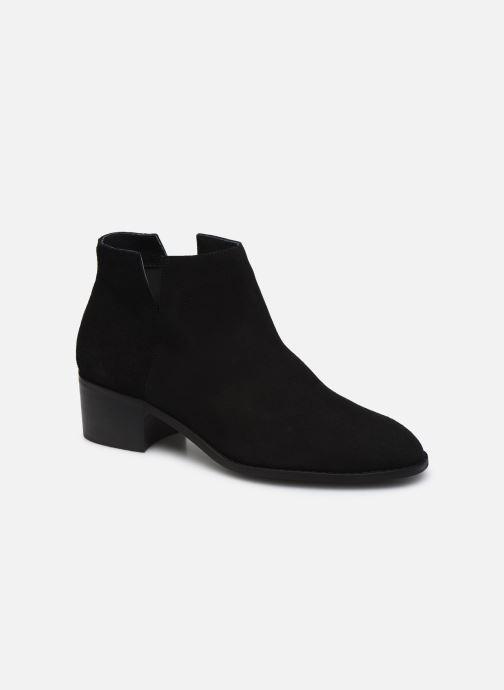 Botines  Bianco BIADARLEY Suede V-Cut Boot Negro vista de detalle / par