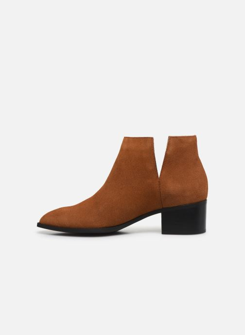 Bottines et boots Bianco BIADARLEY Suede V-Cut Boot Marron vue face