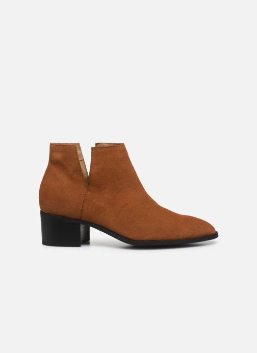 Bottines et boots Bianco BIADARLEY Suede V-Cut Boot Marron vue derrière