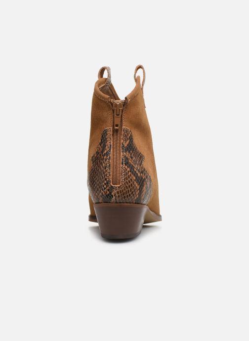 Bottines et boots Bianco BIADAYA Western Suede Boot Marron vue droite