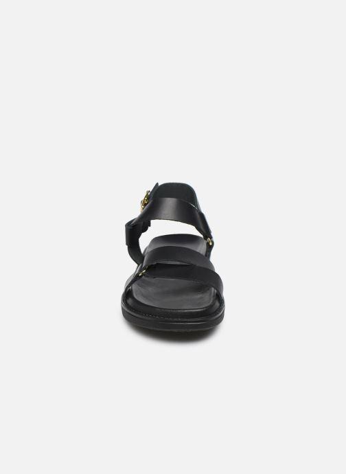 Sandalen Bianco BIADEBBIE Leather Strap Sandal Zwart model