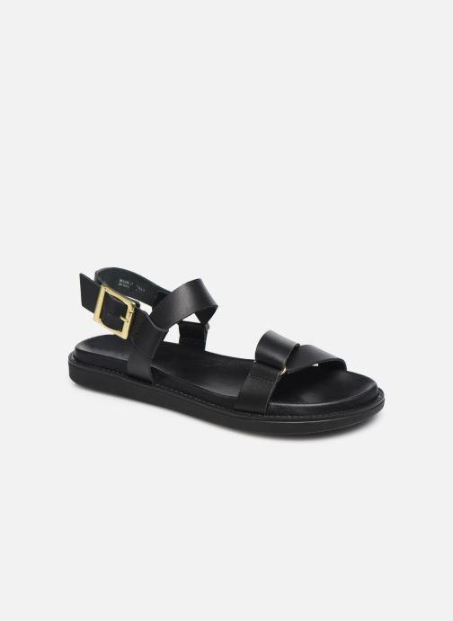 Sandalen Bianco BIADEBBIE Leather Strap Sandal Zwart detail