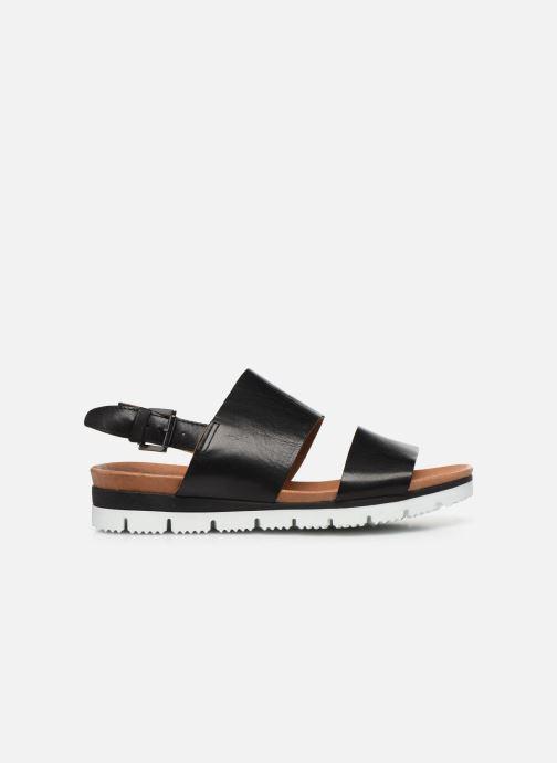 Sandalias Bianco BIADEDRA Leather Sandal Negro vistra trasera