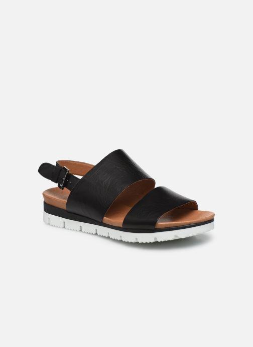 Sandales et nu-pieds Bianco BIADEDRA Leather Sandal Noir vue détail/paire