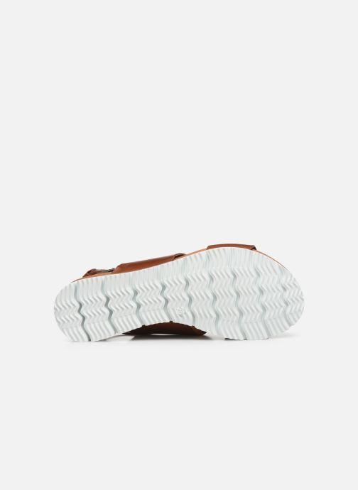 Sandalias Bianco BIADEDRA Leather Sandal Marrón vista de arriba