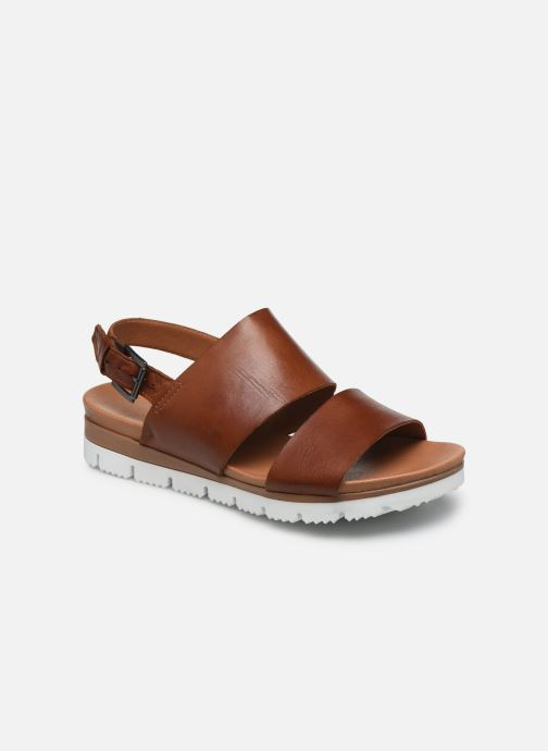 Sandalias Bianco BIADEDRA Leather Sandal Marrón vista de detalle / par