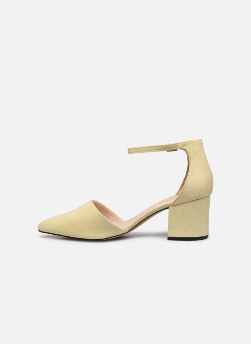 Zapatos de tacón Bianco BIADIVIVED Pump Amarillo vista de frente