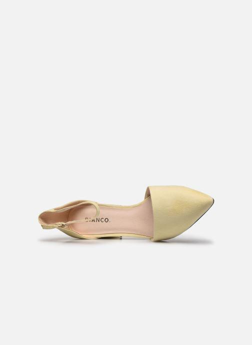 Zapatos de tacón Bianco BIADIVIVED Pump Amarillo vista lateral izquierda
