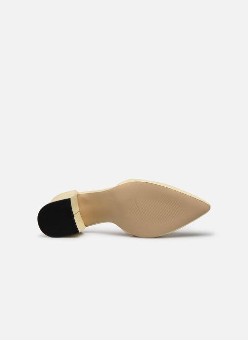 Zapatos de tacón Bianco BIADIVIVED Pump Amarillo vista de arriba