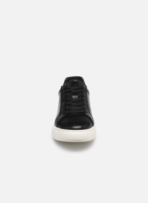 Baskets Bianco BIAKING Clean Leather Sneaker Noir vue portées chaussures