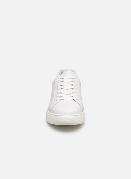 Baskets Bianco BIAKING Clean Leather Sneaker Blanc vue portées chaussures