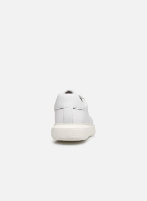 Baskets Bianco BIAKING Clean Leather Sneaker Blanc vue droite