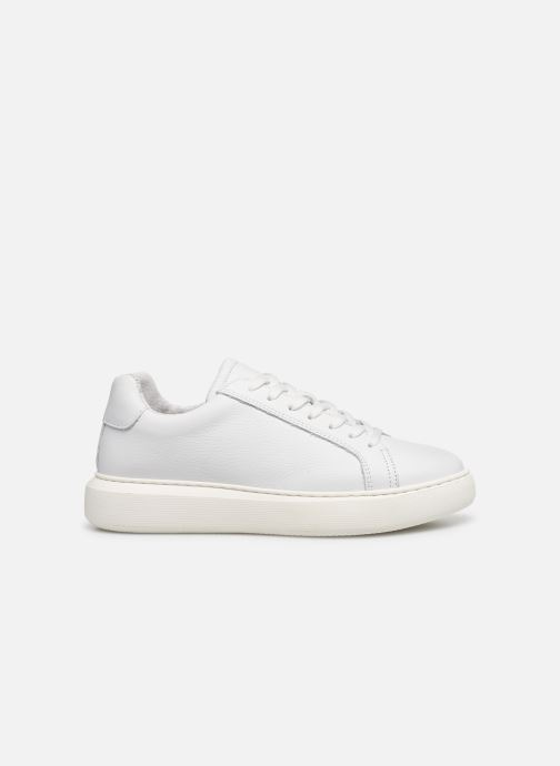 Baskets Bianco BIAKING Clean Leather Sneaker Blanc vue derrière