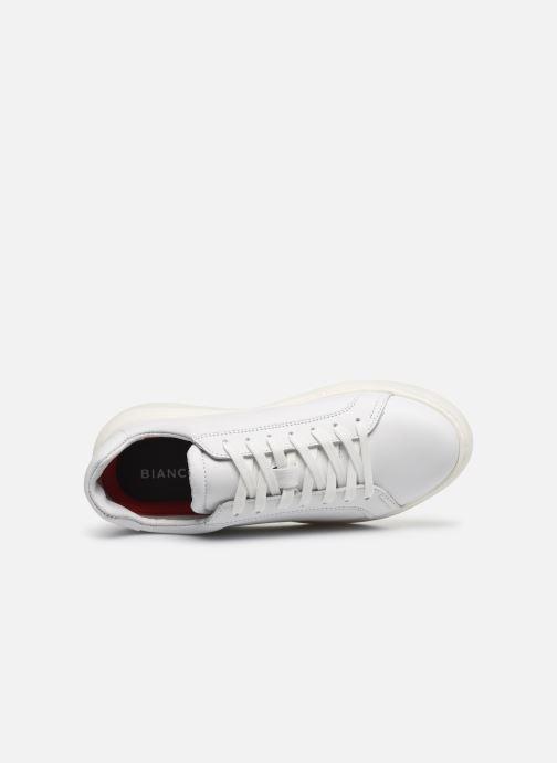 Baskets Bianco BIAKING Clean Leather Sneaker Blanc vue gauche