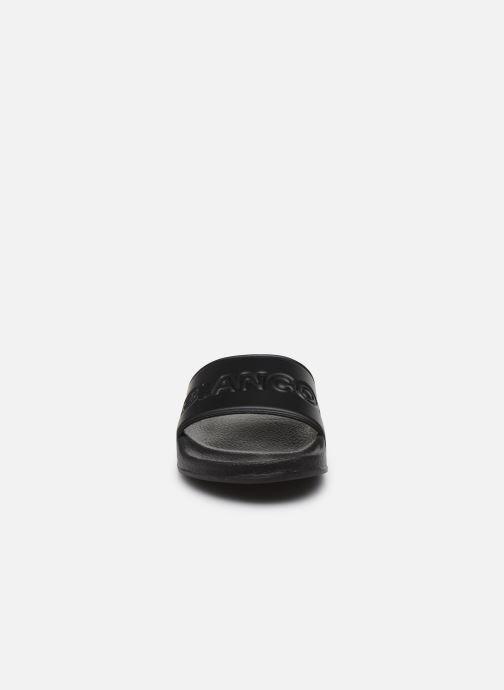 Mules et sabots Bianco BIASTONE Logo Pool Slide Noir vue portées chaussures