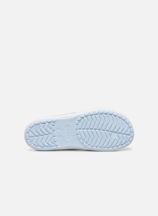 Chanclas Crocs CB Platform Flip Azul vista de arriba