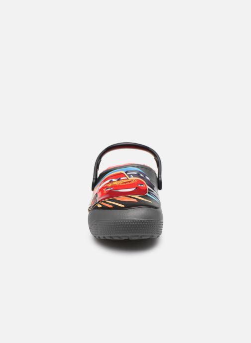 Sandales et nu-pieds Crocs FL Cars Lined Clog K Gris vue portées chaussures