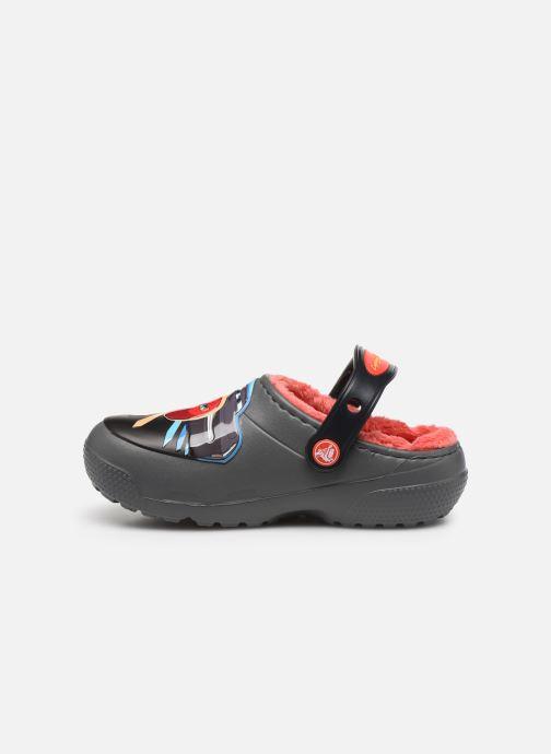 Sandales et nu-pieds Crocs FL Cars Lined Clog K Gris vue face