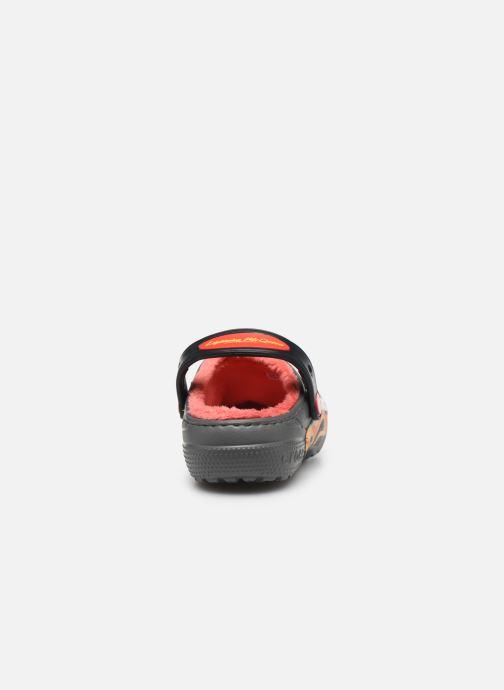 Sandales et nu-pieds Crocs FL Cars Lined Clog K Gris vue droite