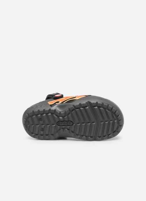 Sandales et nu-pieds Crocs FL Cars Lined Clog K Gris vue haut