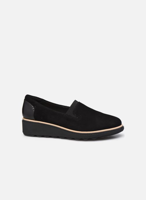 Mocasines Clarks Sharon Dolly Negro vistra trasera