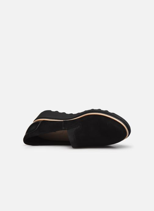 Mocasines Clarks Sharon Dolly Negro vista lateral izquierda
